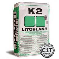 """LITOBLANC K2 - Экстрабелый клей для укладки мозаики""""Litokol"""""""
