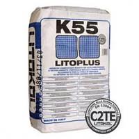 """LITOPLUS K55 белый клей для внутренней и наружной укладки мозаики""""Litokol"""""""