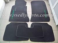 Ворсовые коврики в салон Mercedes W124 (Серые)