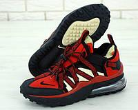 Мужские кроссовки Nike Air Max 270 Bowfin Red Black (Красные Найк Аир Макс 270 красно-черные весна/лето)