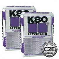 """LITOFLEX K80 Белый - эластичный высоко адгезионный клей для укладки керамогранита,плитка на плитку""""Litokol"""""""