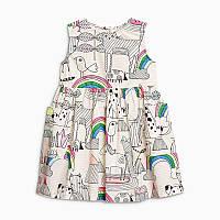 Платье для девочки Радуга Little Maven