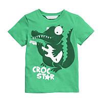 Футболка Little Maven Крокодил Зеленая (49101)