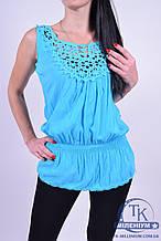 Блузка женская размеры с 40 по 48 1шт.-35грн. (АКЦИЯ цена за 10шт.) L-3018
