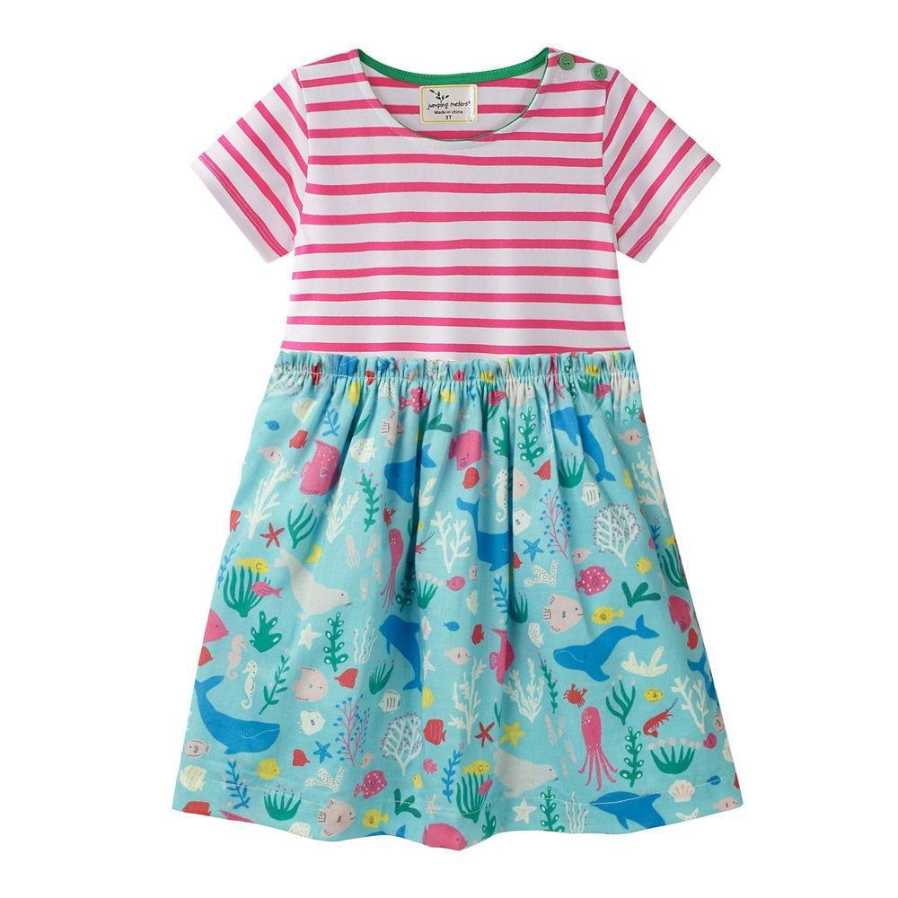 Платье для девочки Океан Jumping Meters (7 лет)