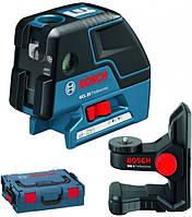 Лазерный отвес Bosch GCL 25 Professional с держателем BM1 в L-Boxx (0601066B03)