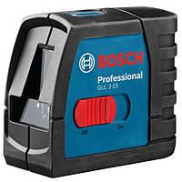 Лазерный уровень нивелир Bosch GLL 2-15 Professional + крепление BM 3 (0601063702)