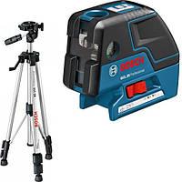 Лазерный отвес Bosch GCL 25 Professional со штативом BS 150 (0601066B01)