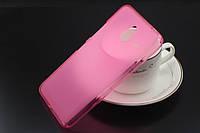 TPU чехол для Microsoft Lumia 640 XL розовый, фото 1