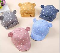 Панамка панама кепка детская чепчик 46-52 см блайзер дитячий головной убор детский
