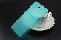 TPU чехол для Microsoft Lumia 640 XL голубой