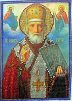 Икона из бисера Николай Чудотворец
