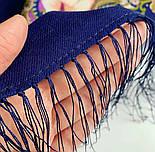 Сказки летней ночи 1862-14, павлопосадский платок шерстяной с шелковой бахромой, фото 8