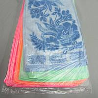 Полотенце 603л синтетика цветок 35х75 см