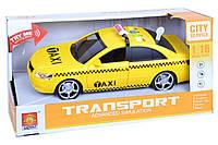 Машинка инерционная 1к16 Wenyi Такси со звуком и светом - 140008