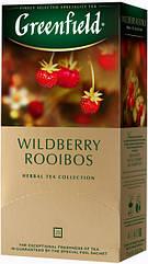 Чай травяной с ройбуш Greenfield Wildberry Rooibos 25 пак.