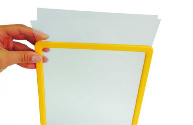 Прозрачне защитные карманы для вставки в рамки формата А5 б/у