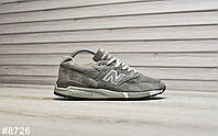 Мужские кроссовки New Balance 998 Bringback. Натуральная замша. Подошва ABZORB, фото 1