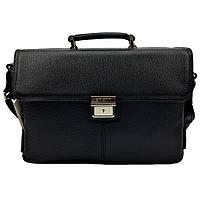 Мужской портфель кожаный Karya 0384-45 черный