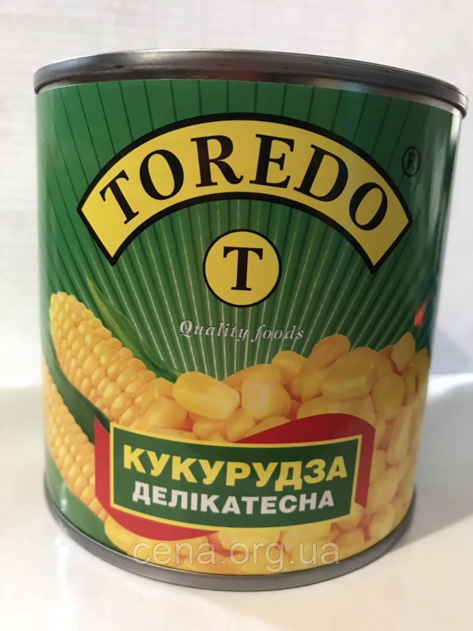 Кукуруза деликатесная Торедо (Toredo) 340г ж/б
