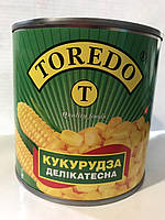 Кукуруза деликатесная Торедо (Toredo) 340г ж/б, фото 1