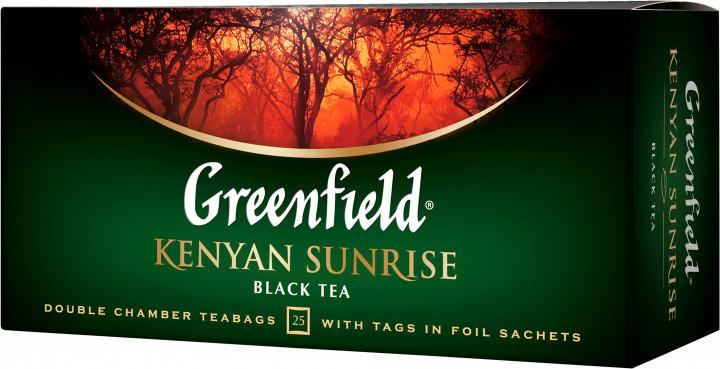 Чай черный кенийский Greenfield Kenyan Sunrise 25 пак.