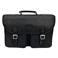 Мужской портфель кожаный Karya 0680-45 черный