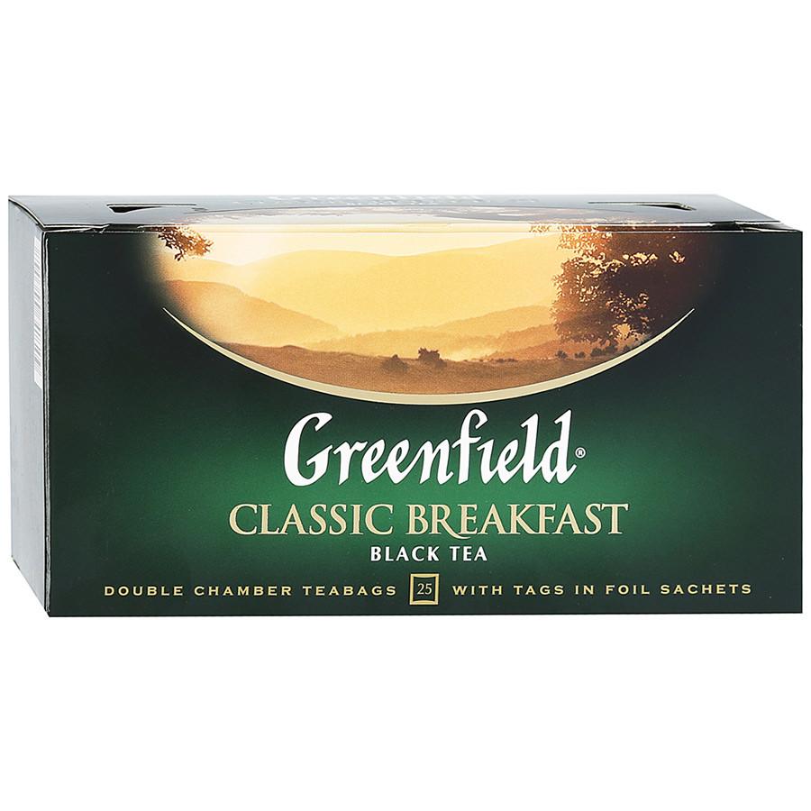 Чай черный Greenfield Classic Breakfast 25 пак.