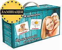 Карточки Домана - «МЕГА чемодан» в ламинации