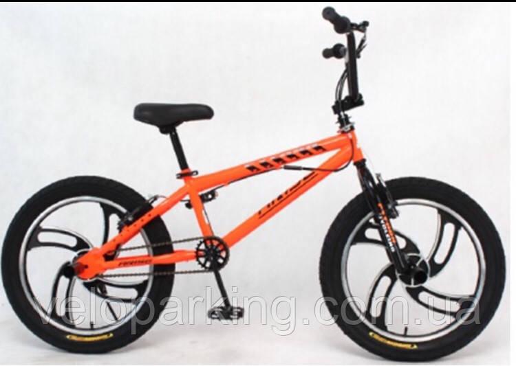 Велосипед прыжковый BMX Cross  20 freestylee литые диски