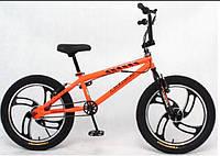 Велосипед прыжковый BMX Cross  20 freestylee литые диски, фото 1