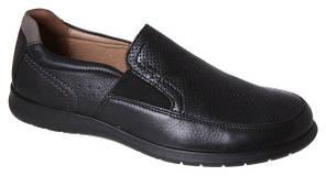 Туфлі чоловічі GoErgo шкірянні чорні atral 46