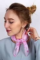 Платок La Feny Шейный платок, косынка Саванна малиновый 50х50 см - 137092