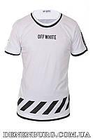 Футболка мужская OFF-WHITE 19-5016 белая, фото 1