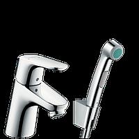 Hansgrohe Focus E2 31926000 Смеситель для раковины с гигиеническим душем