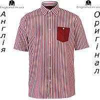 Рубашка в клетку мужская Pierre Cardin из Англии - на короткий рукав