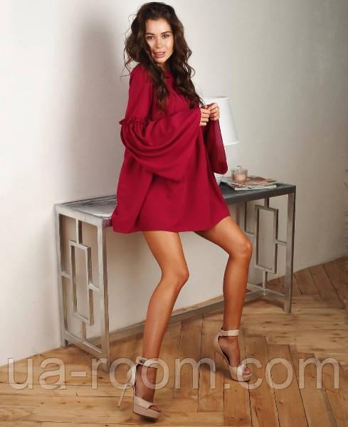 Женское платье креп-шифон №497