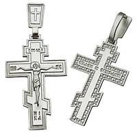 Серебряный крестик - 140247