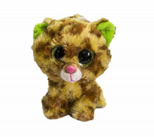 Мягкая игрушка Глазастик С 33959 Кот-коричневый