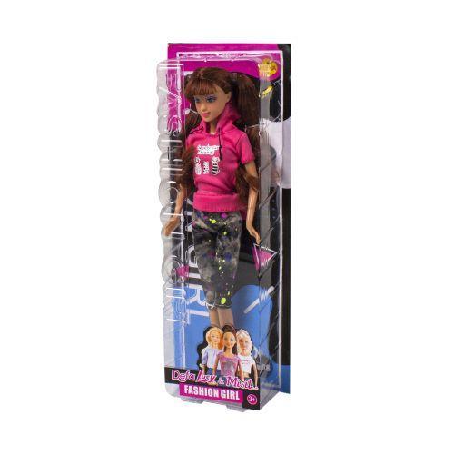 Кукла 1281 «Defa Lucy», в розовой кофте и штанах