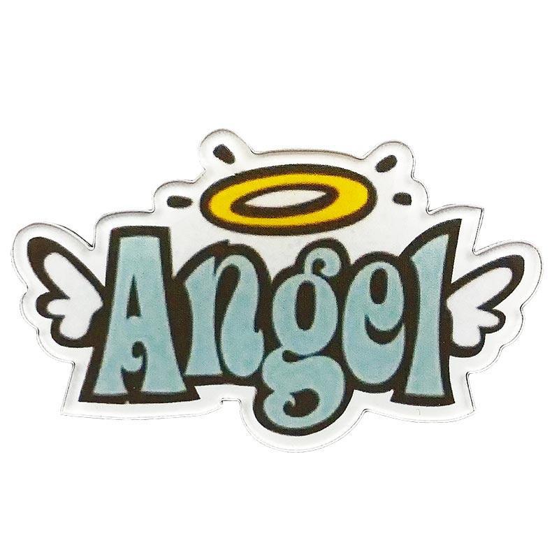 Значок пластик Пин Ангел Angel