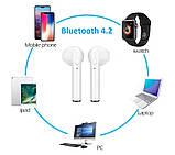 Наушники i7 TWS mini Bluetooth c зарядным боксом, фото 4