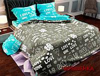 """Семейный набор хлопкового постельного белья из Бязи """"Gold"""" №1572078AB Черешенка™"""