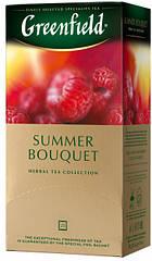 Чай из трав с малиной и шиповником Greenfield Summer Bouquet 25 пак.