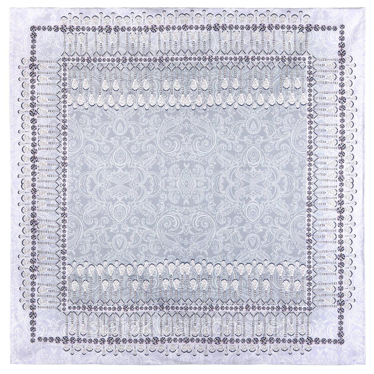 10628-1, павлопосадская скатерть хлопковая квадратная с подрубкой