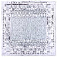 10628-1, павлопосадская скатерть хлопковая квадратная с подрубкой, фото 1