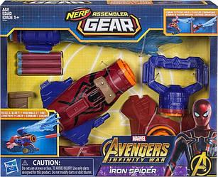 Бластер Спайдермен NERF от Хасбро - Spider Man Marvel Avengers, Hasbro