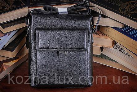 Мужская сумка вместительная из натуральной кожи, Италия , фото 2