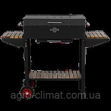 Мангал - барбекю Daddy Smoke на 12 шампурів (1240х350х995), фото 3