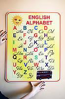 Стенд Англійський алфавіт для початкових класів НУШ